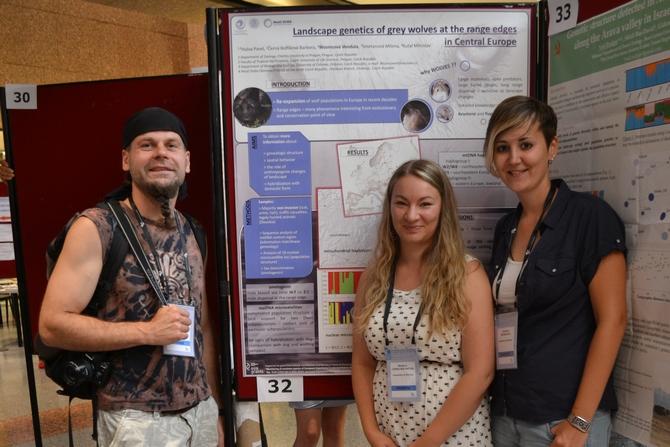 Prezentace výsledků genetického výzkumu vlka (Pavel Hulva, Barbobra Černá Bolfíková, Vendula Woznicová)