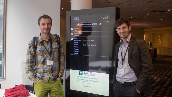 Účastnici konference Dušan Romportl a Martin Duľa